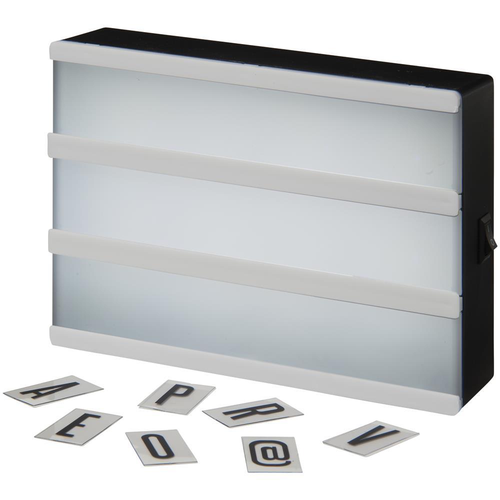 Bullet Lampada The Cinema Light Box 15 X 4 X 10 Cm Bianco Eprice