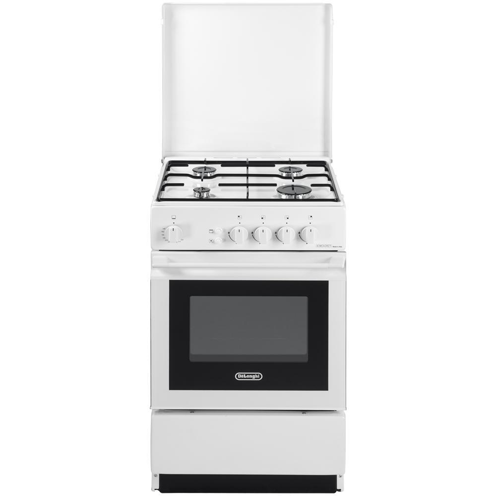 DE LONGHI - Cucina freestanding 50x50 4 fuochi bianca ...