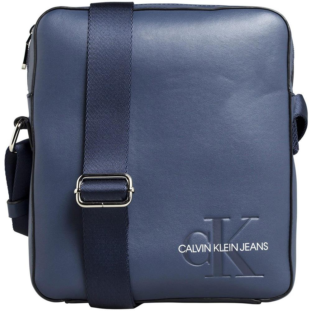 100% authentic 7aead d08cc CALVIN KLEIN Borse A Tracolla Calvin Klein K50k504743 Crossover Valigie One  Size