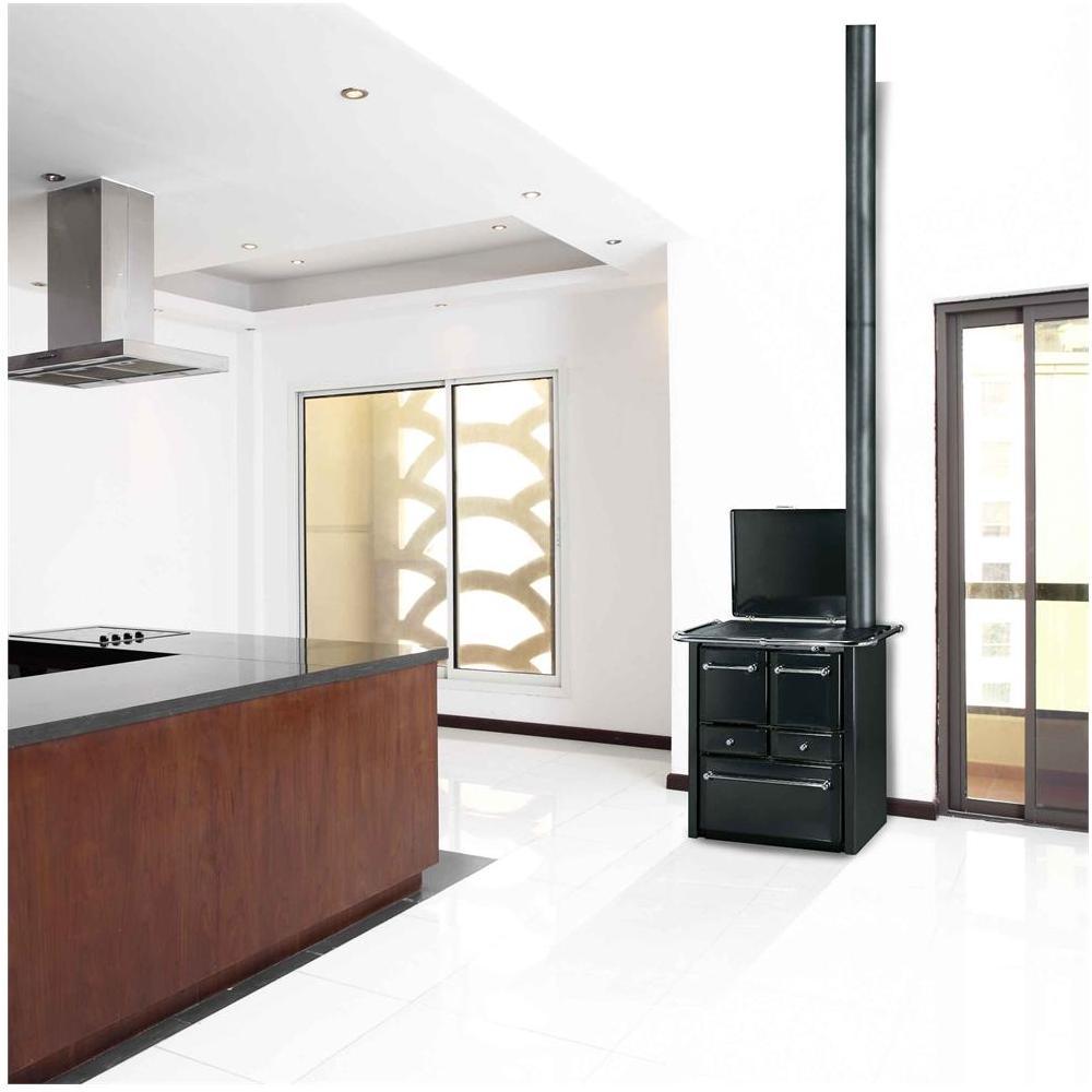 LINCAR - Cucina a Legna Gaia 138 V Potenza Termica Nominale 6.7 kW ...
