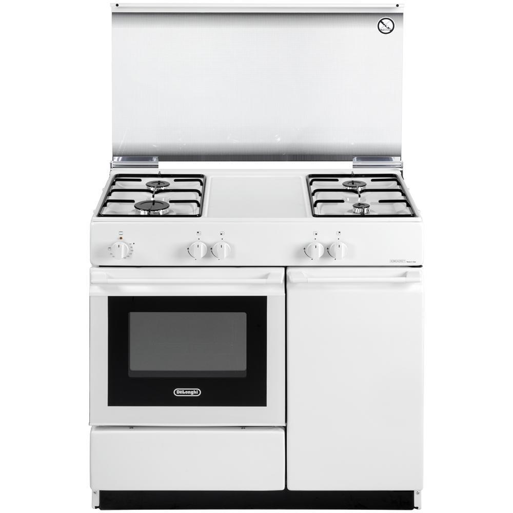 DE LONGHI Cucina a Gas SEW 8540 N Forno Elettrico Dimensioni 86x50 cm