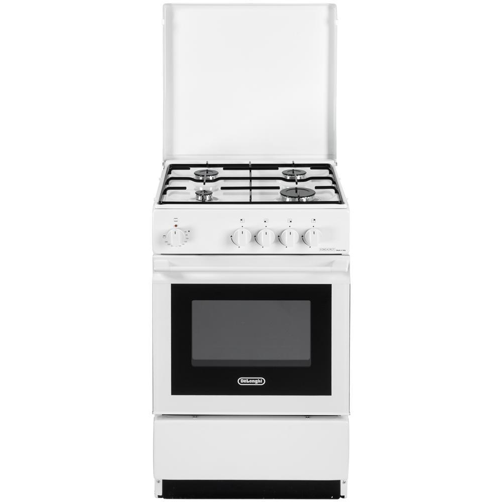 DE LONGHI - Cucina a Gas 4 Fuochi Forno Elettrico Dimensioni 50x50 ...