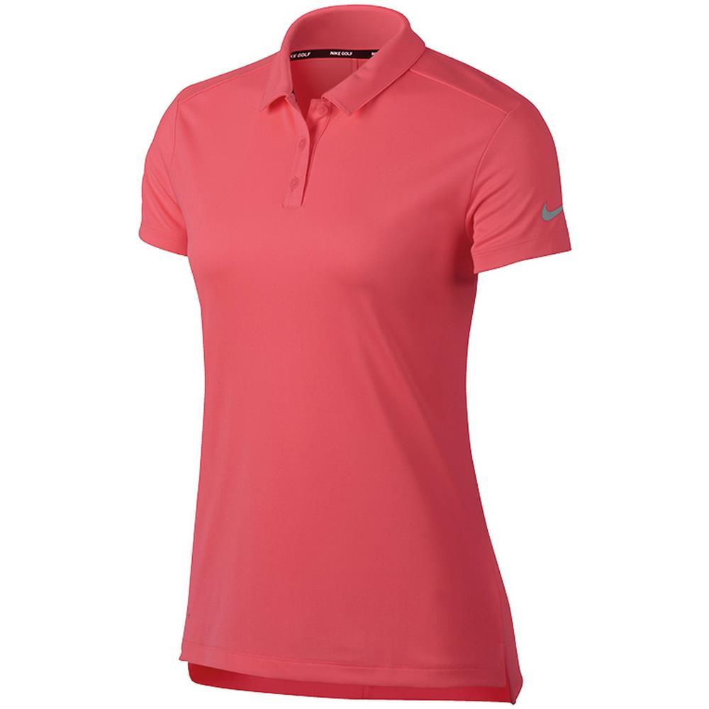 Tipo Nike Maniche Victory s Donna rosa Polo A Corte Maglietta UXfqX