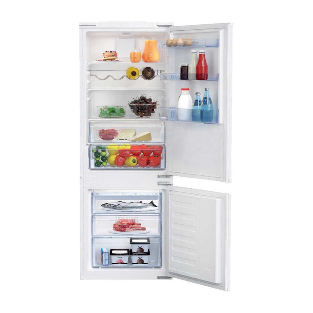 Come Pulire Un Frigorifero Usato beko frigorifero combinato da incasso bcsa285k3sf classe a++ capacità lorda  / netta 285/271 litri