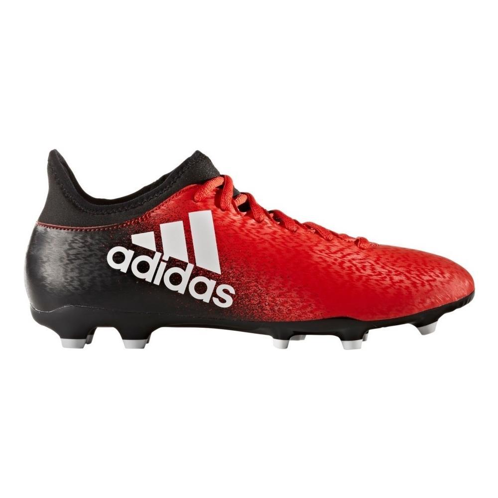 Adidas Scarpe Calcio X 16.3 Fg Rosso Nero 44