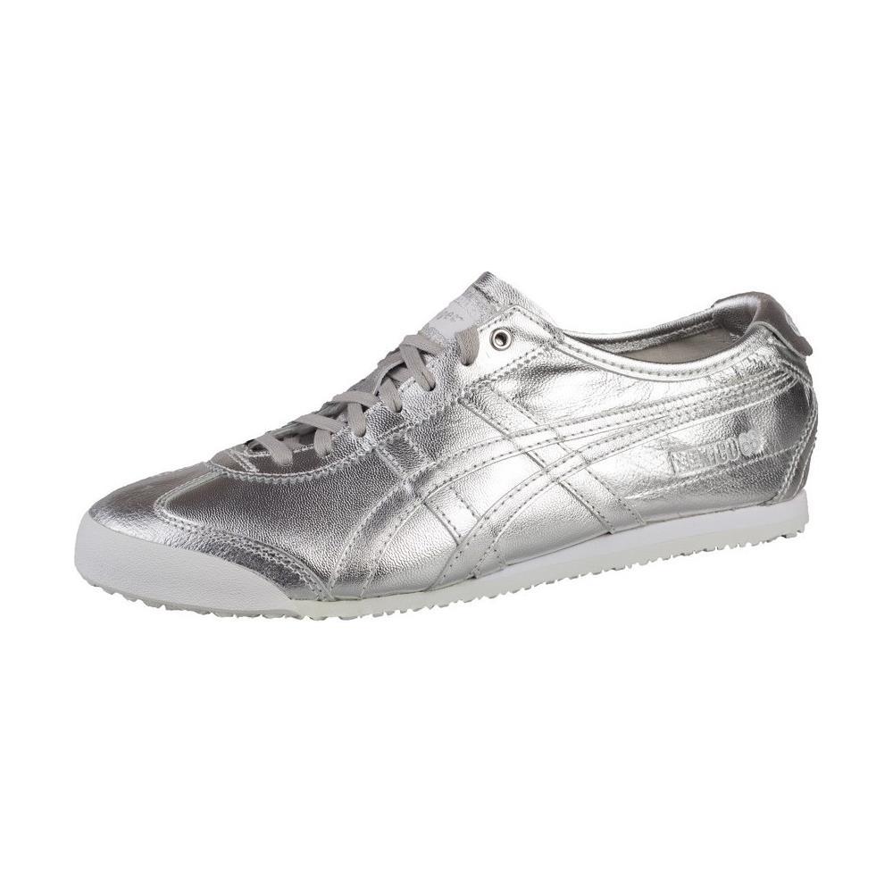 Asics Mexico 66 D5R1L9393 argento scarpe basse