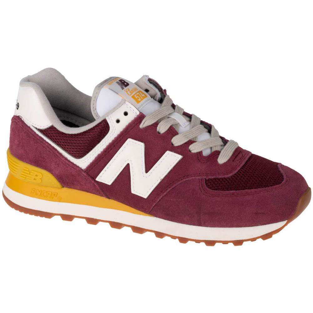 NEW BALANCE Wl574vn2, Donna, Borgogna, Sneakers, Numero: 39 Eu