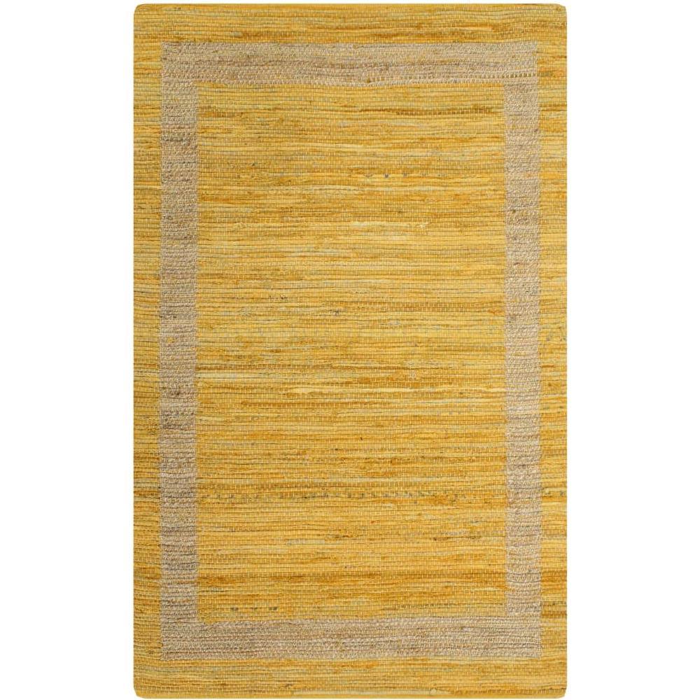 Tappeti Bagno Su Misura Torino vidaxl tappeto artigianale in juta giallo 80x160 cm