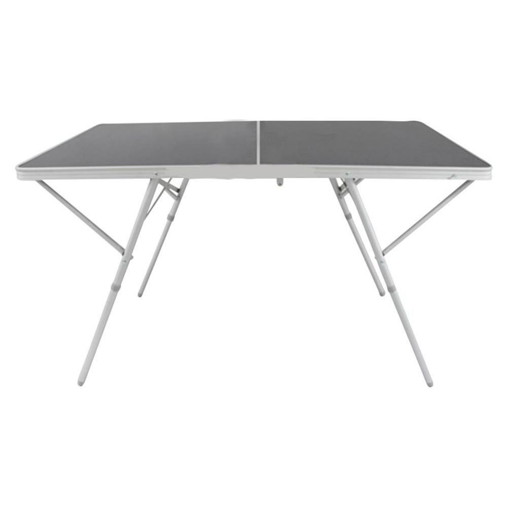 Tavoli Alluminio Pieghevoli Usati.Milanihome Tavolo Pieghevole Rettangolare 120 X 60 Per Campeggio