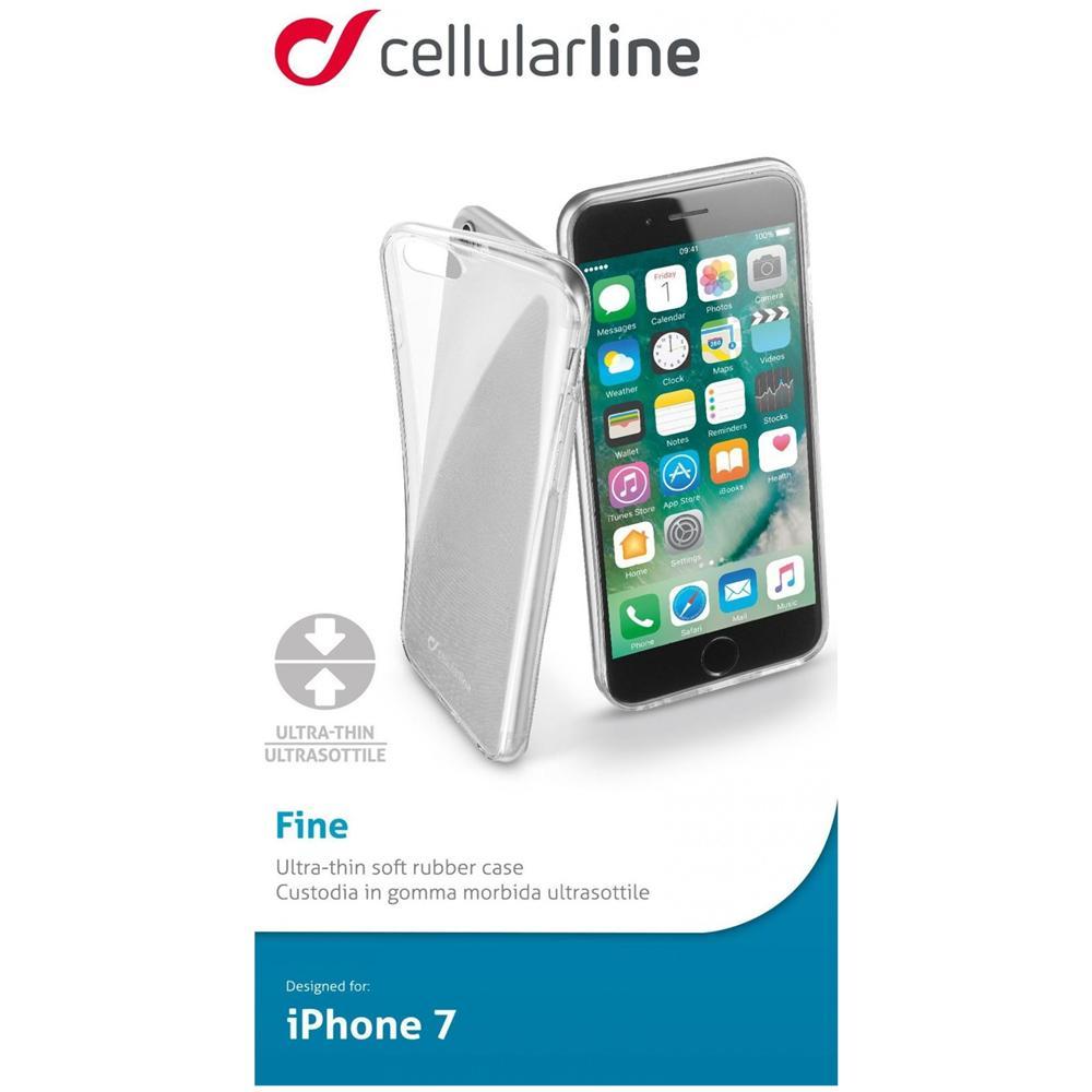 custodia cellular line iphone 4 trasparente