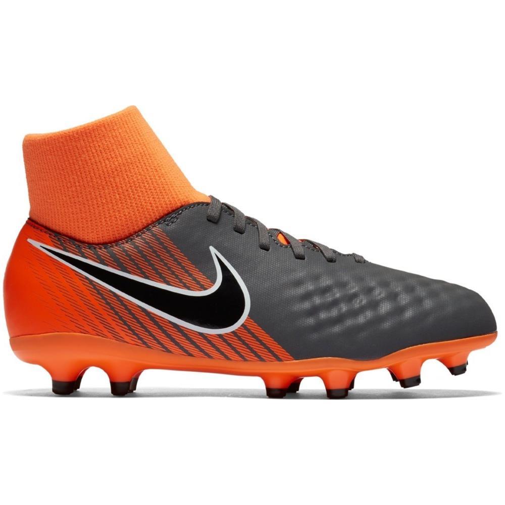 NIKE Scarpe Calcio Bambino Nike Magista Obra Ii Academy Df Fg Fast Af Pack Taglia 33 Colore: Grigio arancio