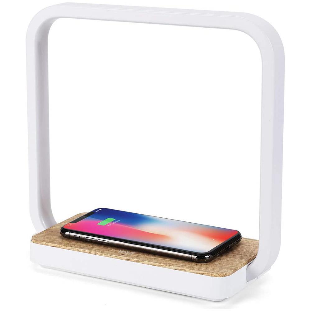 Wilit Lampada Da Comodino Lampada Led Da Tavolo Con Wireless Charger E Speaker Bluetooth Eprice