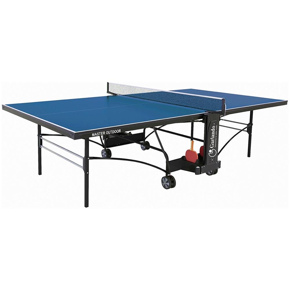 Tavolo Ping Pong Per Esterno.Garlando Tavolo Ping Pong Da Esterno C 373e Master Outdoor Colore Blu