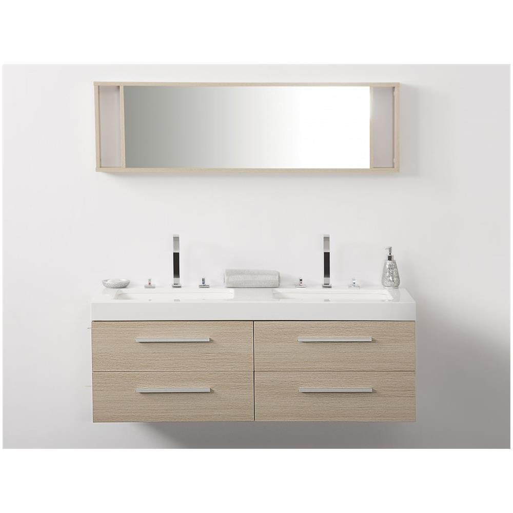 Armadietti Bagno A Specchio.Lavabi Con Di Bagno Specchio 1 2 Armadietti E Beliani