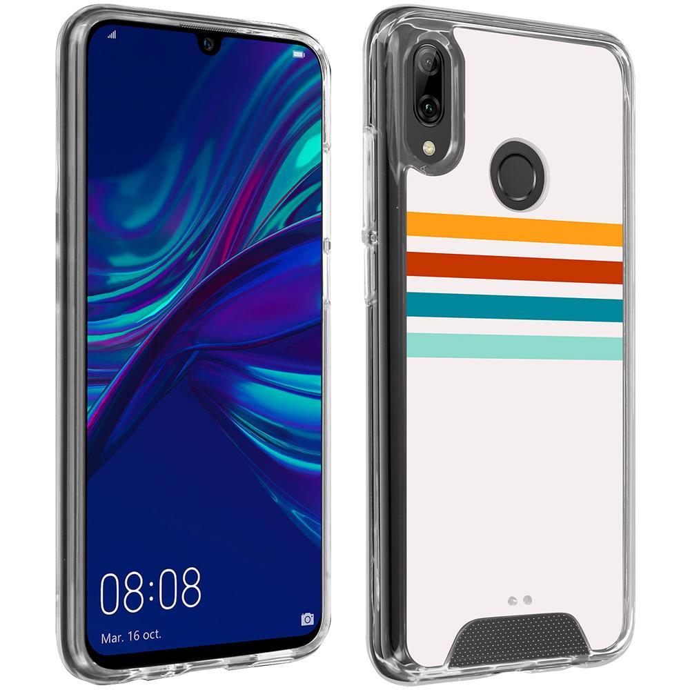 Avizar Cover Huawei P Smart 2019 / Honor 10 Lite Antiurto Motivo Stripes Made In France