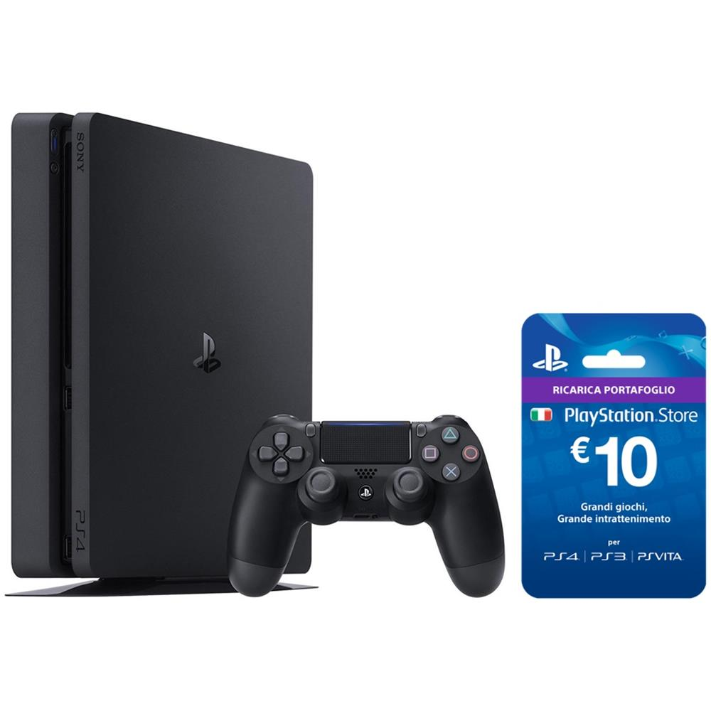 Console Playstation 4 500 Gb Slim + PS Live Card €10