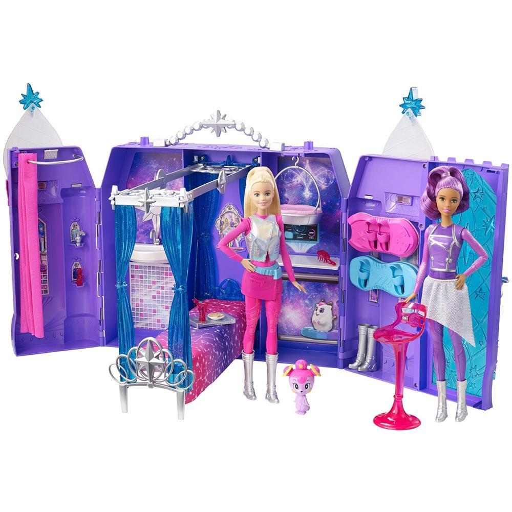 Letto A Castello Barbie.Mattel Castello Galattico Barbie Eprice