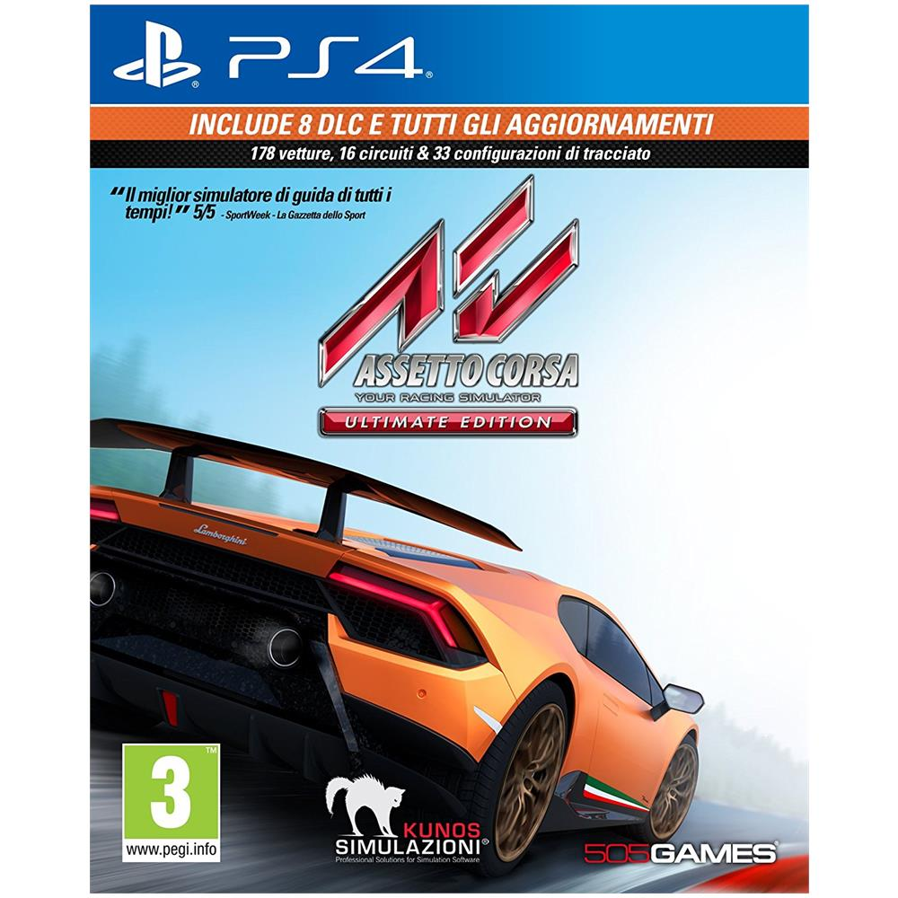 PS4 - Assetto Corsa Ultimate Edition