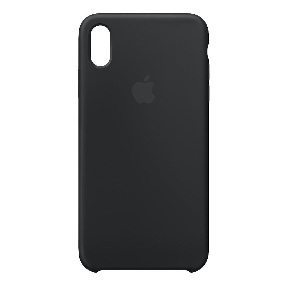 APPLE Custodia in silicone per iPhone XS Max - Nero