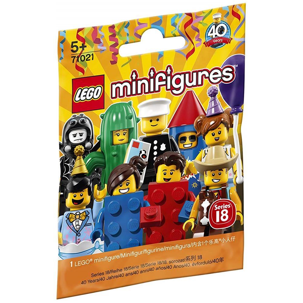 LEGO 71018 MINIFIGURES SERIE 17 N.16 UOMO MISTERIOSO NUOVA DA BUSTINA