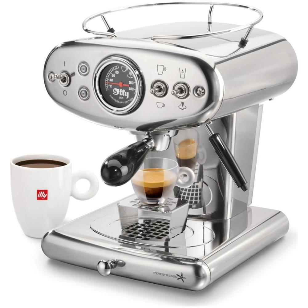 Illy - Macchina Caffè Espresso X1 Anniversary - Acciaio-inox - ePrice
