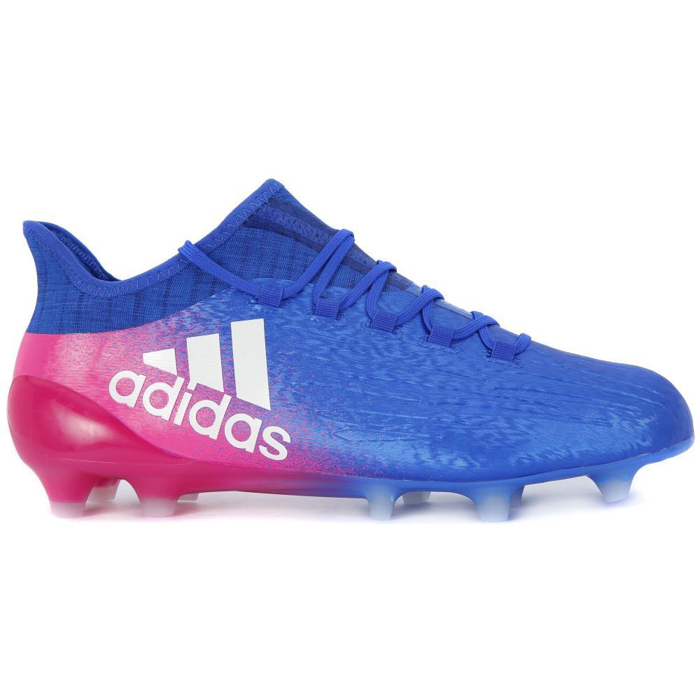 Adidas Scarpe Calcio X 16.1 Fg Blu Rosa 44,66
