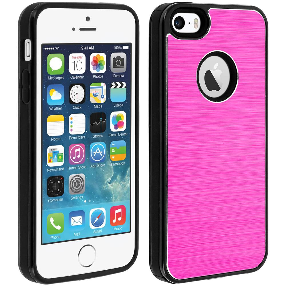 custodia iphone se rosa