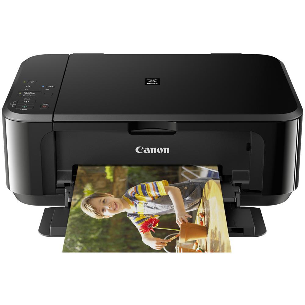 Stampante Multifunzione Pixma MG 3650 Inkjet a Colori Stampa Copia Scansione Wi-Fi USB - Nero