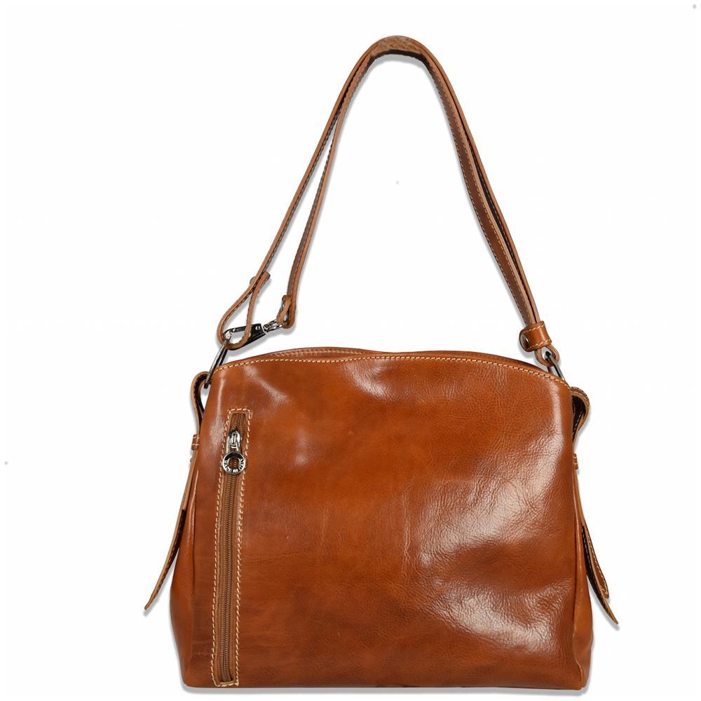 c9de834e83 Mhateria Discover Shopping Online Mhateria - Borsa In Pelle - 25 - Cuoio.  Venduto e spedito da ...
