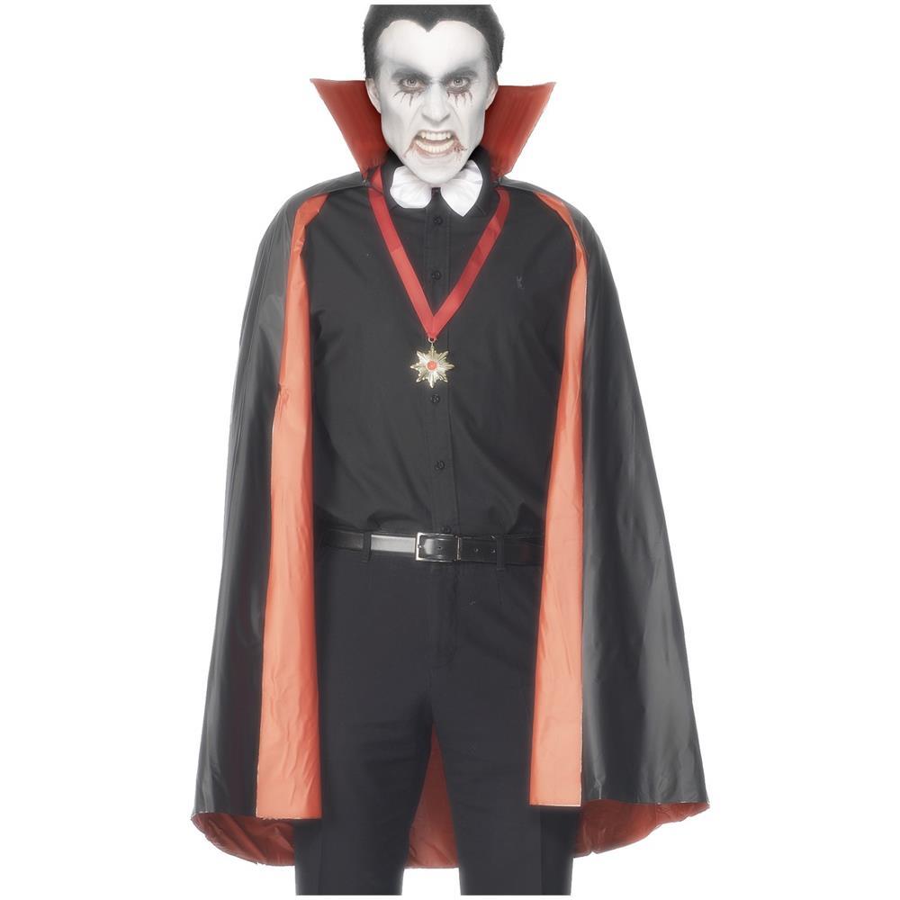 FESTIVIFETE Mantello Reversibile Da Vampiro Per Adulto Taglia Unica. Zoom 84f922a63cae