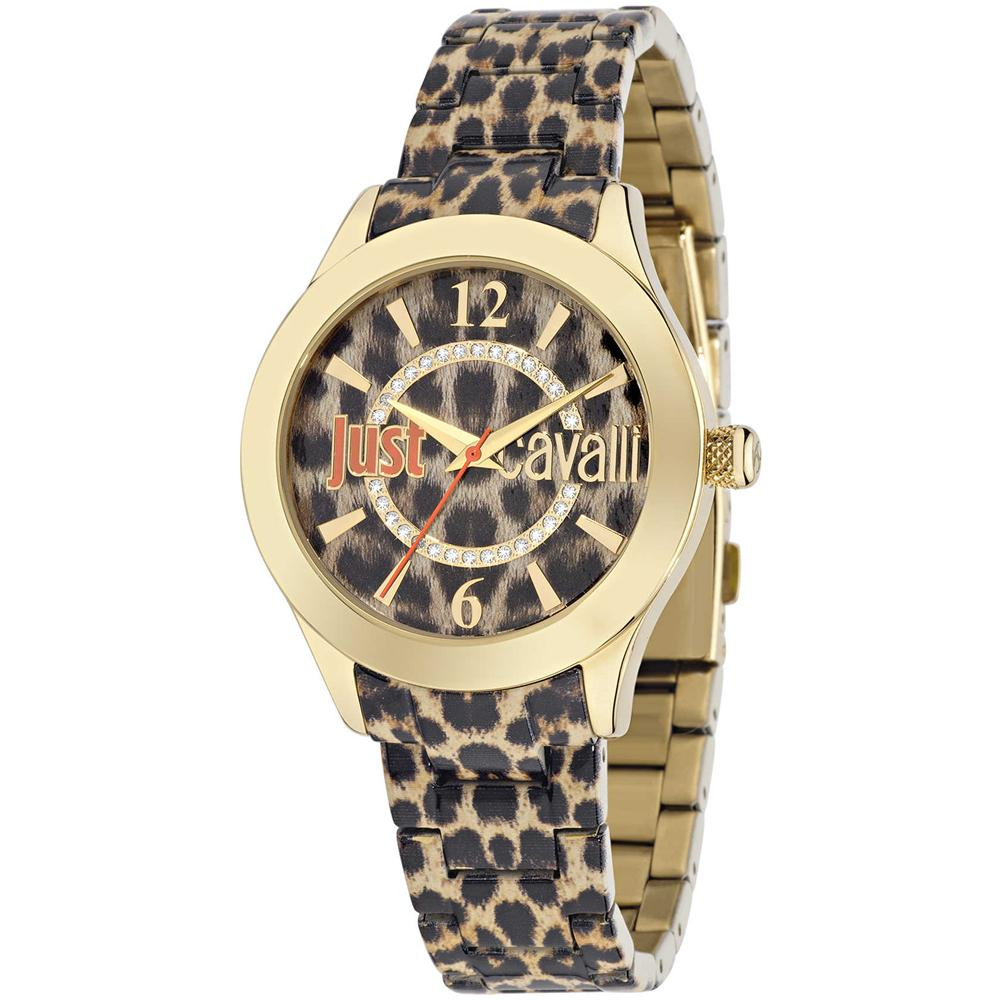 3dbf255576 just cavalli - Orologio Donna R7253177501 Color Maculato Giallo ...