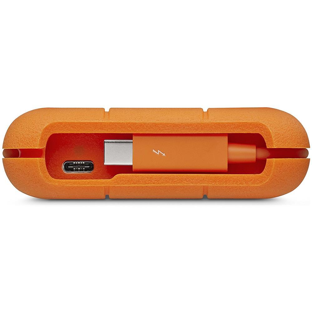 LaCie LaCie STFS1000401 unità esterna a stato solido 1000 GB Arancione, Bianco