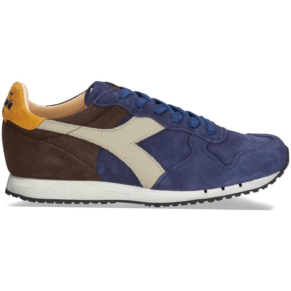 Diadora Heritage Sneakers Diadora Heritage Blu Uomo Trident s sw c7163 blu marrone Taglia 6