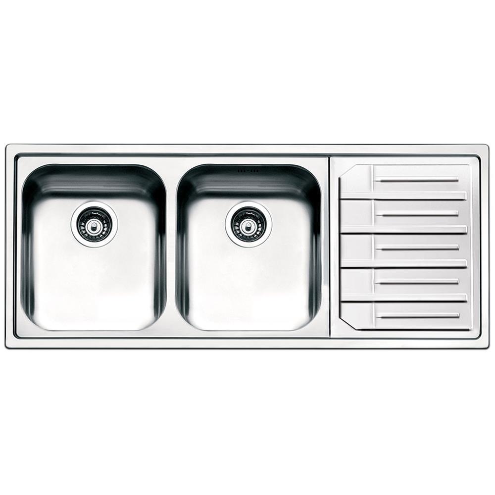 SMEG - Lavello LPE116D 2 Vasche Dimensioni 34 x 40 cm Colore Inox ...
