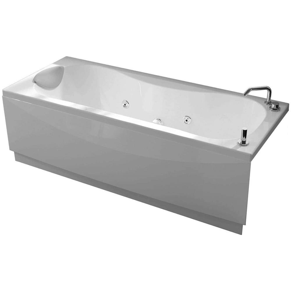 Vasche Idromassaggio Misure E Prezzi novellini calypso vasca bagno versione hydro plus misura 180x80 h55 cm  idromassaggio whirlpool 6 getti disinfezione airpool 12 jets installazione