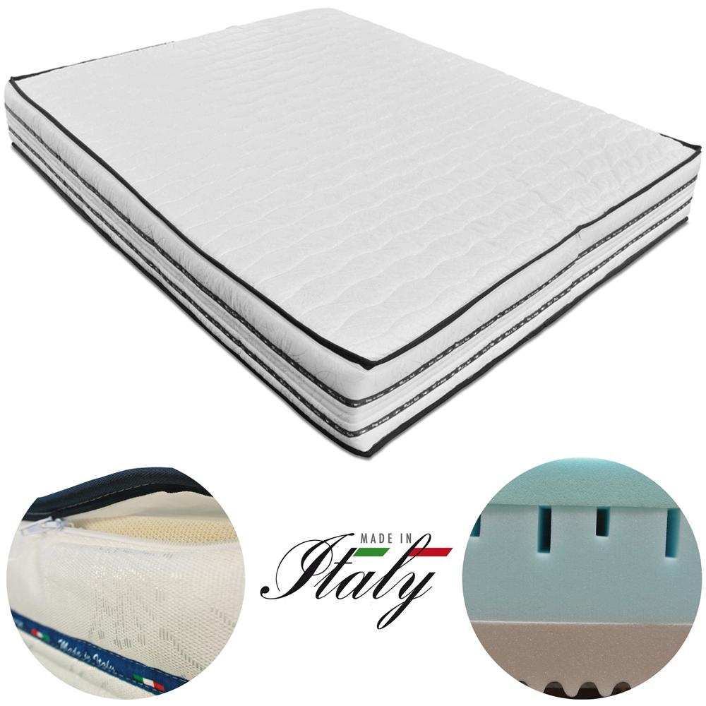 Materasso Memory Foam Baldiflex.Baldiflex Materasso Matrimoniale In Memory Foam Modello Air Top