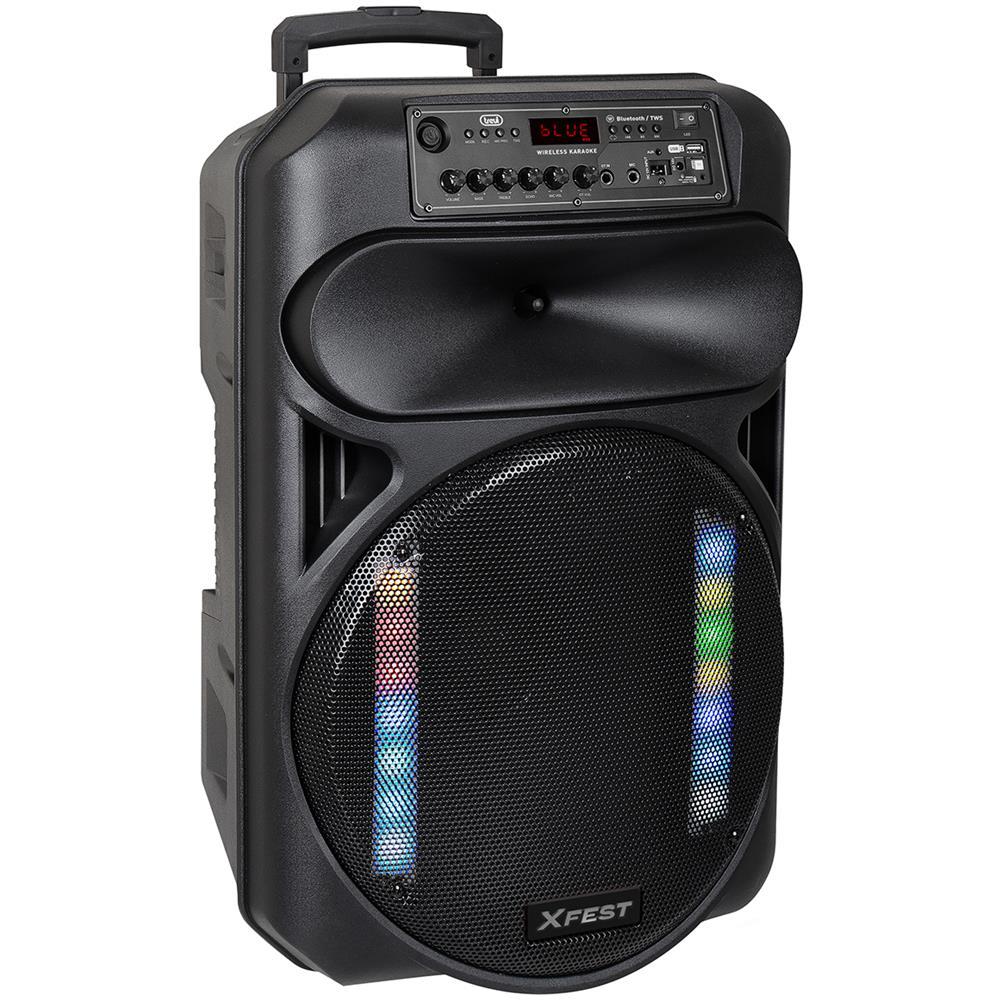 Altoparlante Amplificato 120W XF 1550 KB con Bluetooth Nero