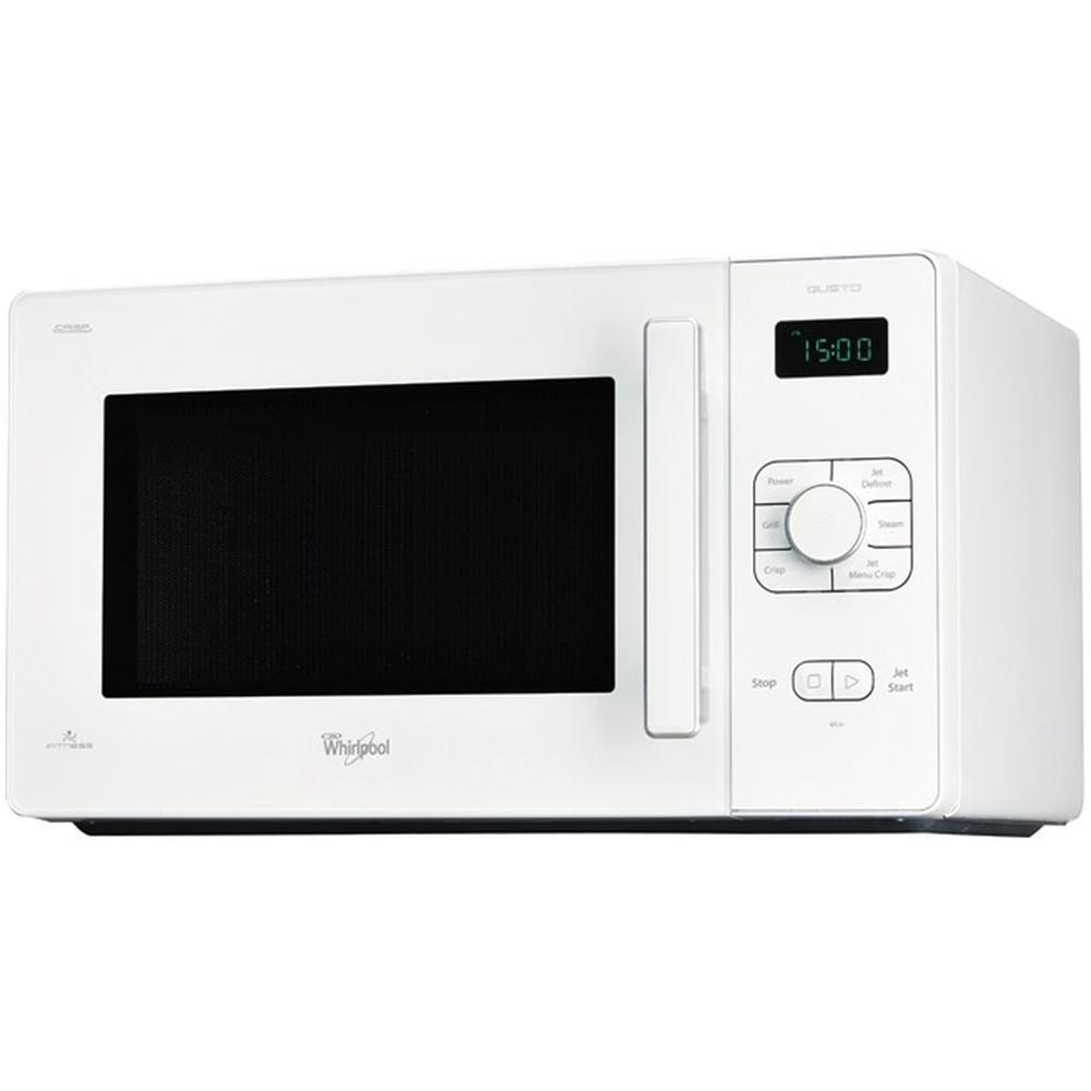 Whirlpool gt286wh gusto forno microonde con grill - Cucinare con microonde whirlpool ...