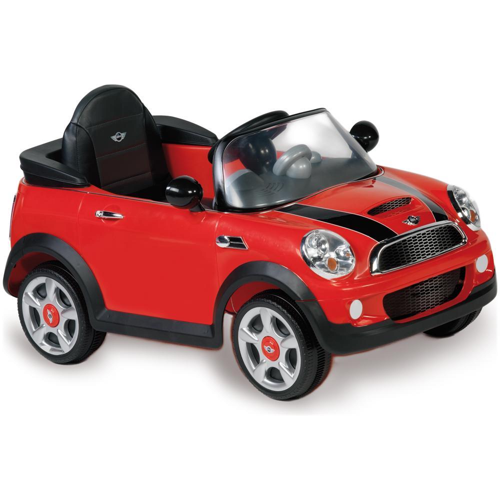Biemme Auto Elettrica Mini Cooper Con Luci Suoni E Telecomando 6