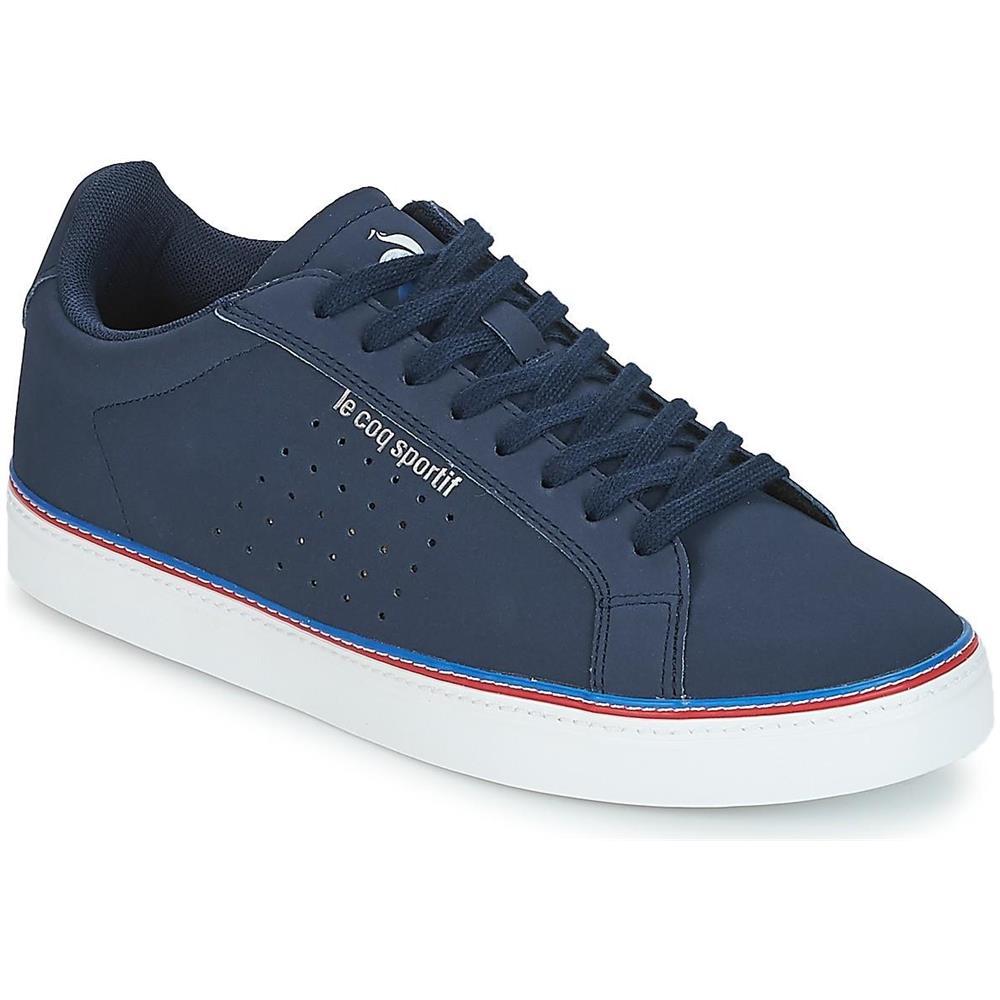orologio eac57 16140 LE COQ SPORTIF Courtace Sport Scarpe Da Ginnastica Sneakers Basse Blu 41