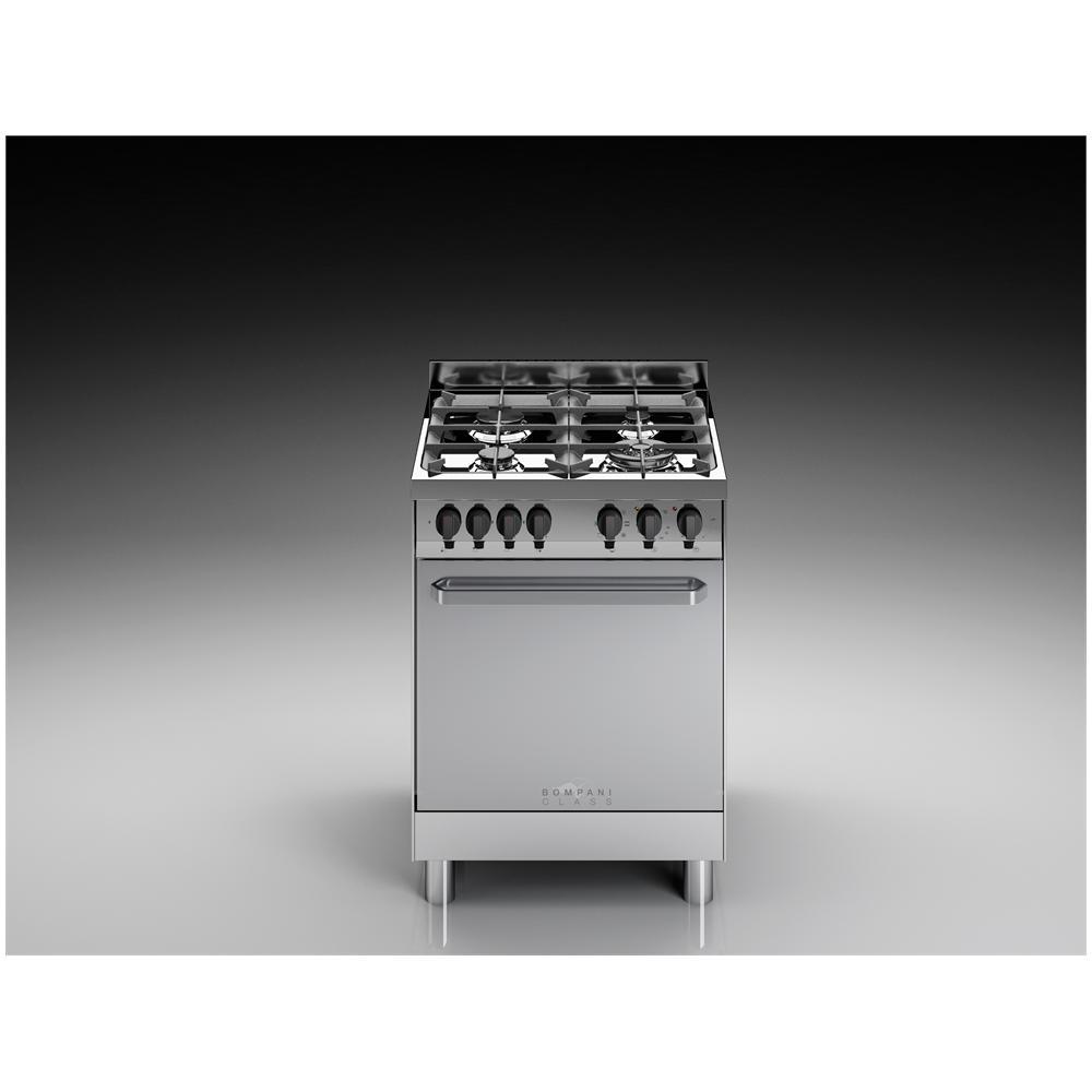 Bompani cucina elettrica bc643ca n 4 fuochi a gas forno elettrico multifunzione classe a - Bompani cucine a gas ...