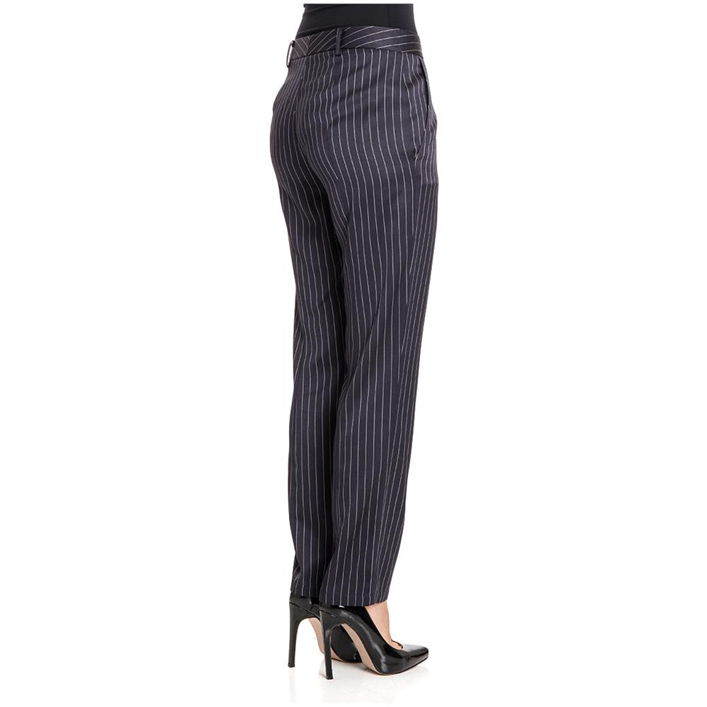 new products 97b41 74506 PATRIZIA PEPE Pantaloni Donna 8p0128a2syi2v7 Acetato Blu Taglia 44