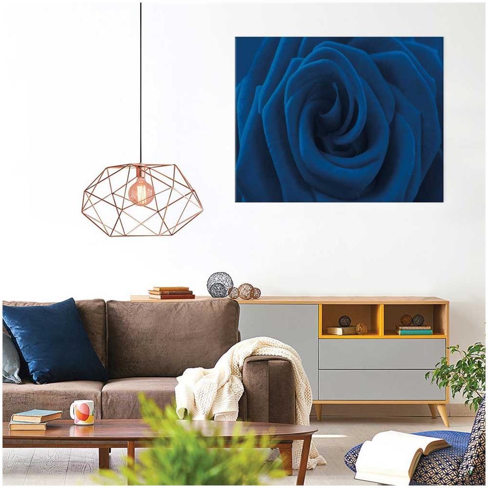 Declea - Quadri Moderni Rosa Blu Quadro Arredamento Soggiorno ...