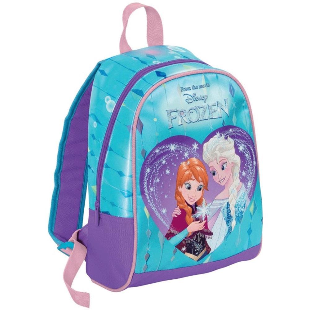 e7a856def6 TrAdE shop Traesio® Zainetto Scuola Frozen 35 Cm Zaino Asilo Bambine Disney  Con Stampa. Venduto e ...