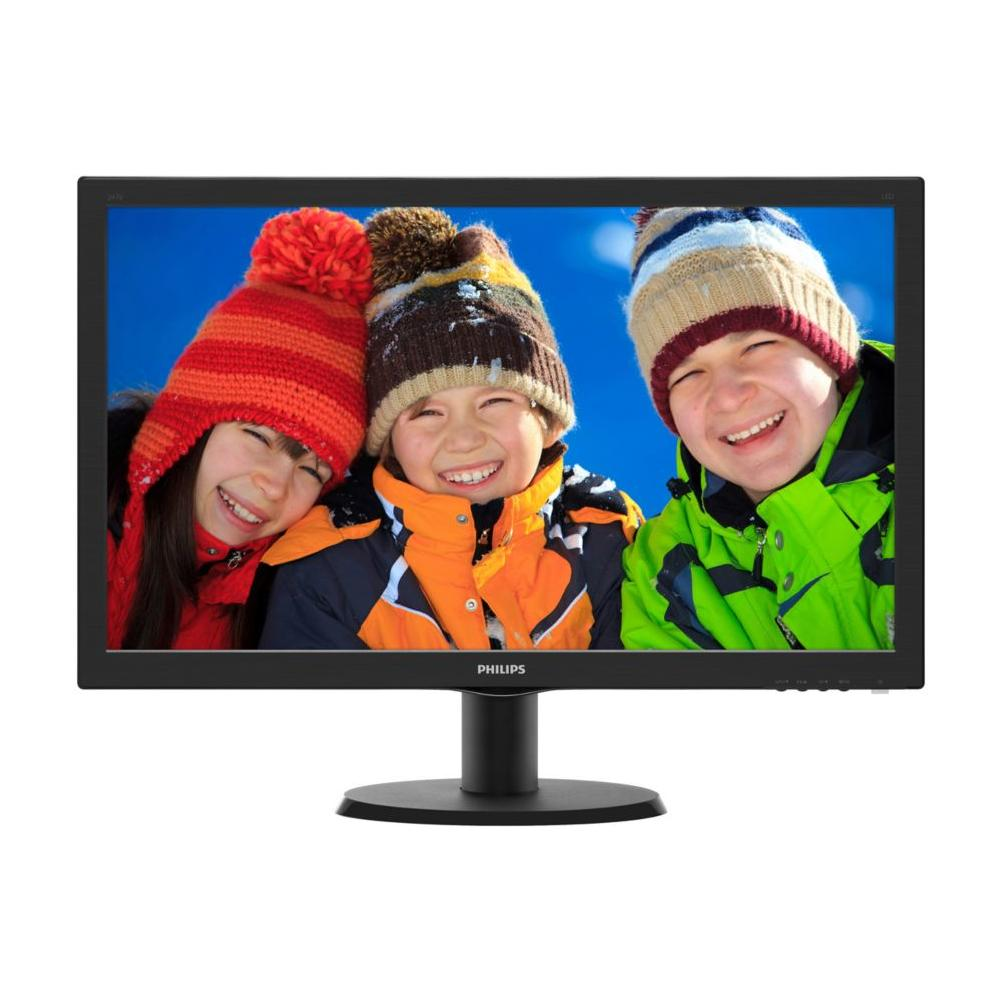 243V5QHSBA / 00, 1920 x 1080 Pixel, LED, Full HD, MVA, 3000:1, 10000000:1