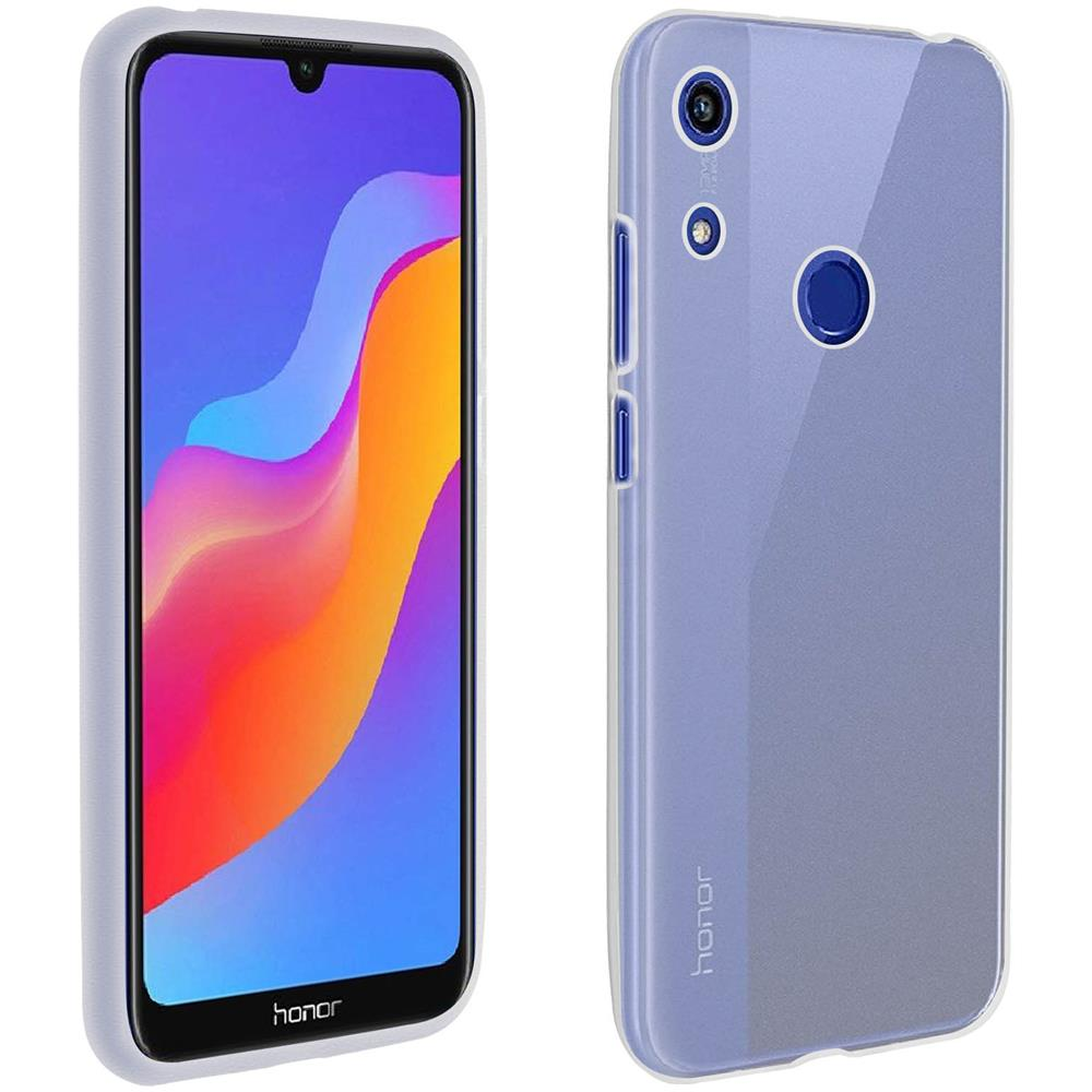 Avizar Cover Huawei Y6 2019 / Honor 8a Protezione Silicone Antishock Trasparente
