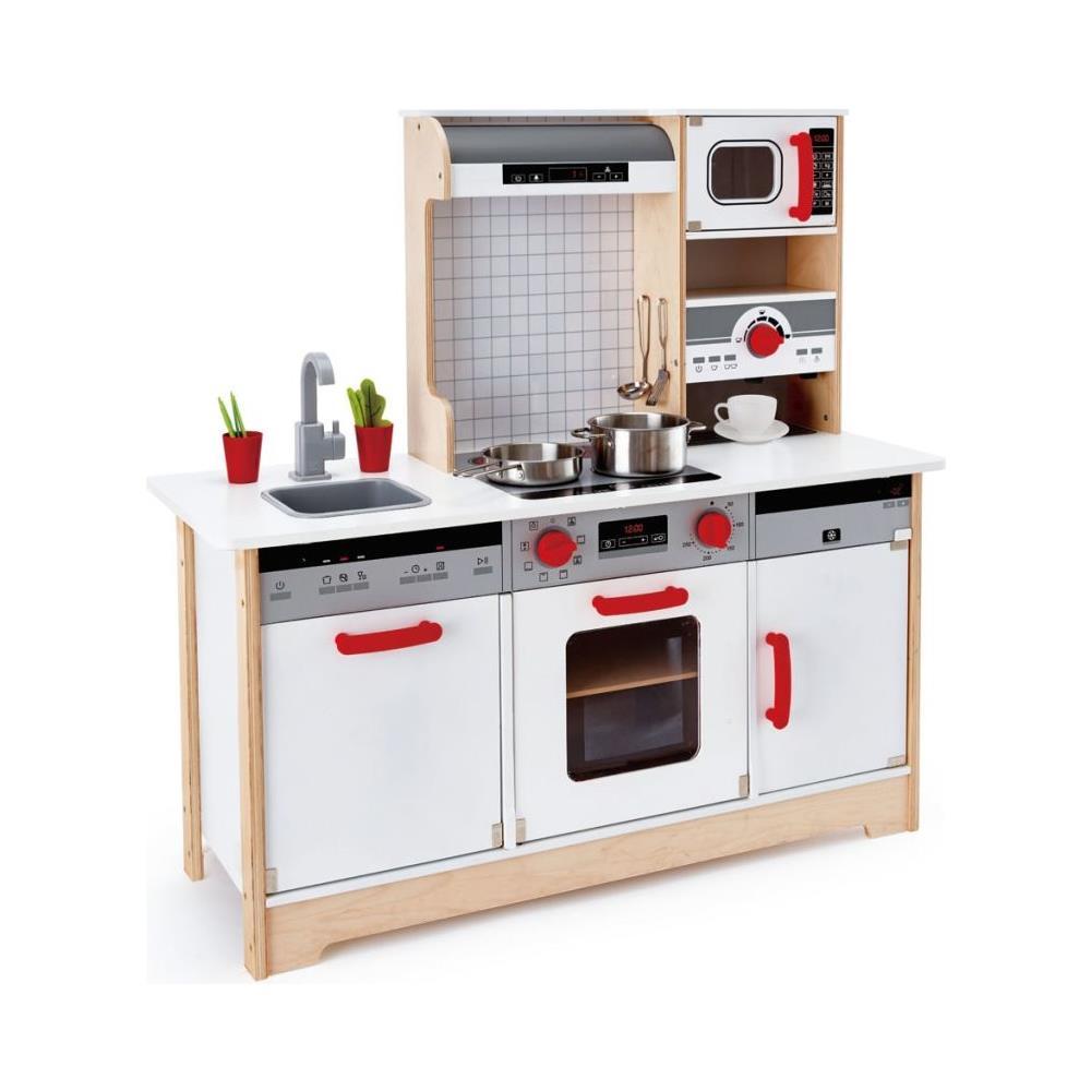 Cucine Giocattolo In Legno Usate.Hape Cucina Giocattolo Con Accessori All In 1 E3145 Eprice
