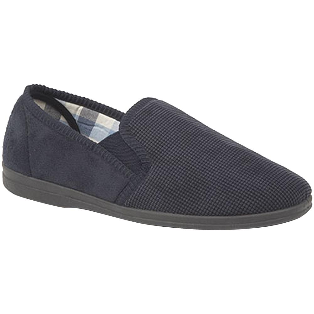 Sleepers - Harry Pantofole Con Memory Foam Uomo (44) (blu Navy) - ePRICE f6a408999b9