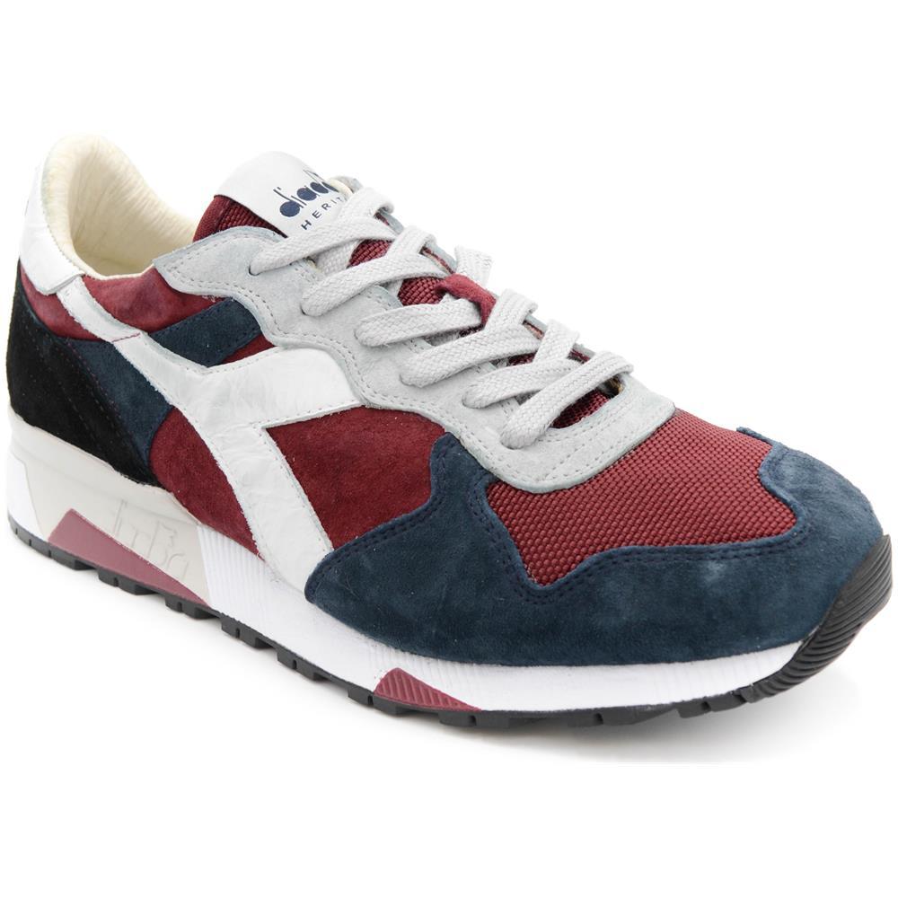 6c00624edf114 Tutte le immagini. Diadora Heritage Sneakers Diadora Heritage Blu Uomo  Trident 90 s c7204 blu-viola Taglia 11.5