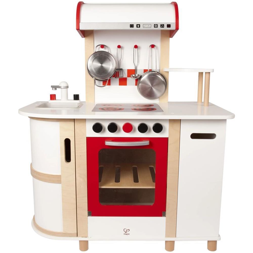 Hape - E8018 Cucina Multifunzionale Per Bambini - ePRICE